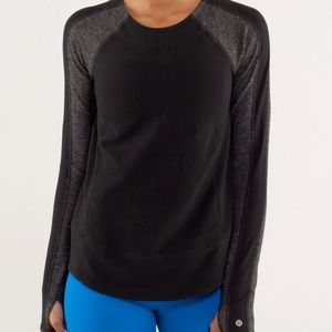 Lululemon Athletica Bold in the Cold L/S Run Top